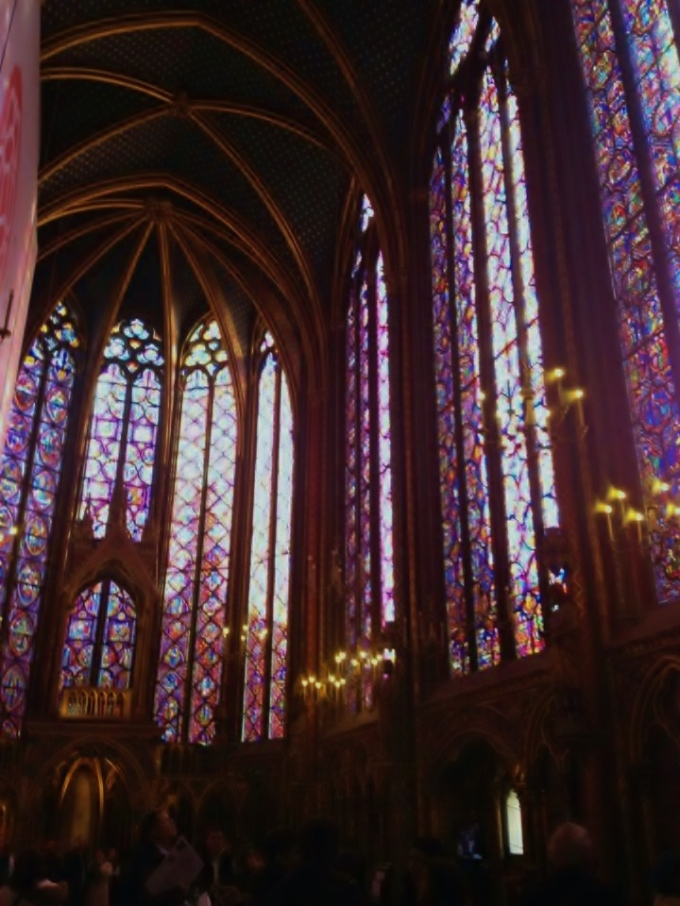 THE PARISIAN JEWEL- Sainte-Chappelle , Paris
