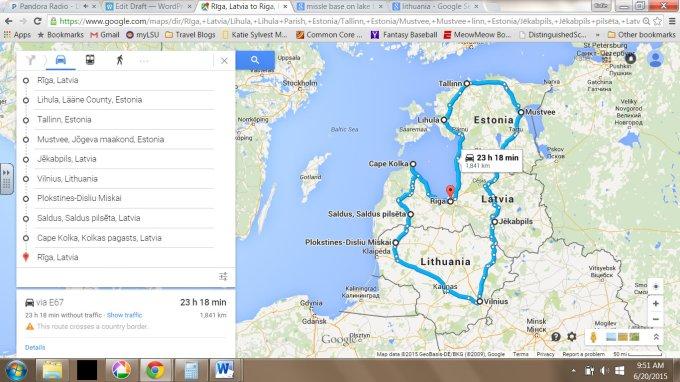 Baltic Trip